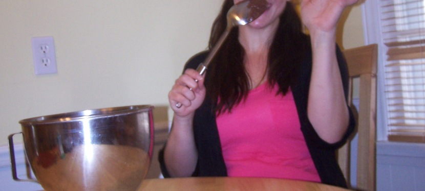 Here is to Licking the Spoon!