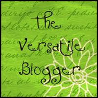 Versatile Blogger Award!!