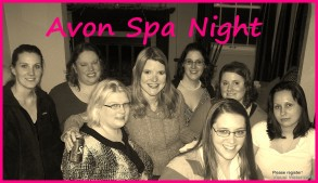 Avon Spa Night and Giveaway!!