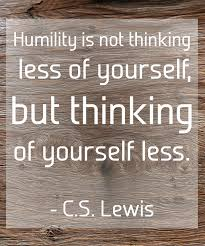 Sunday's Food for the Soul: Humility