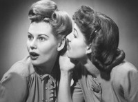 Sunday's Food for the Soul: Gossiping