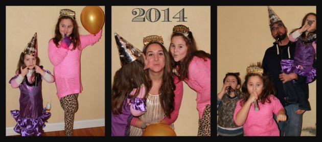 newyearRibbet collage