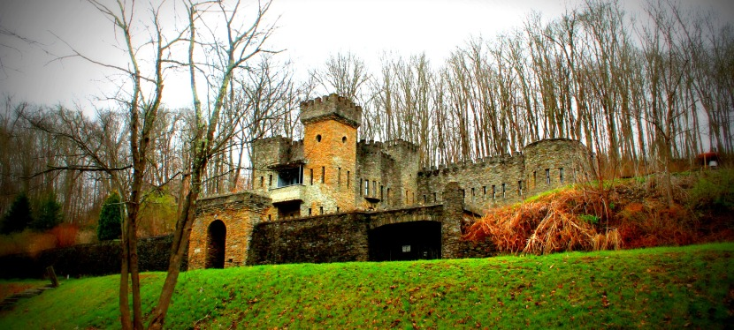Castle in Ohio!? WHAT!? Totally falling in love with Loveland!