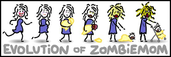Evolution of a zombi mom