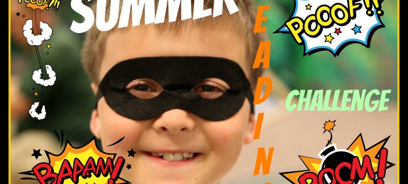 Will you accept the Summer Reading Challenge?
