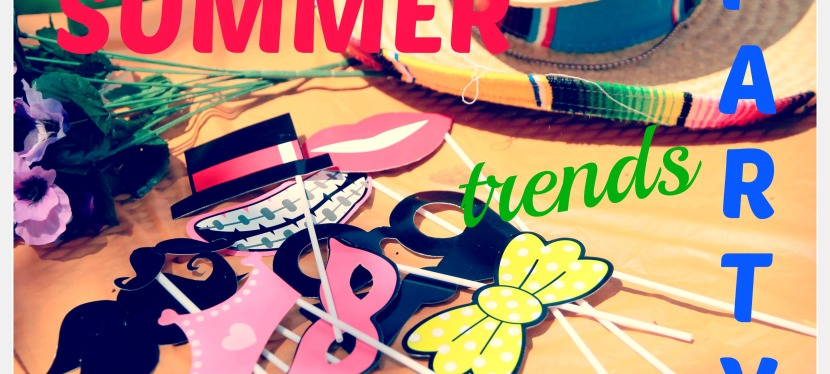 5 Trends that'll make your Kiddos Summer Party Sizzle!!!!