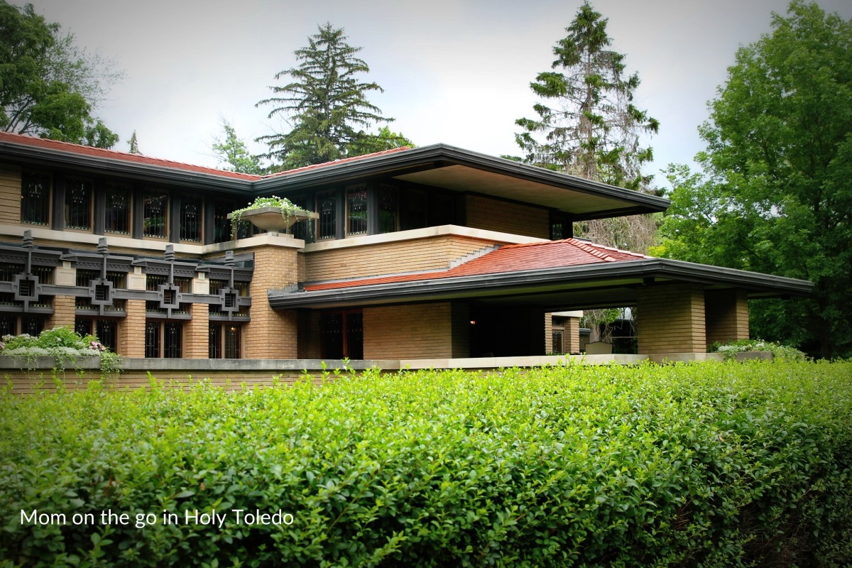 Free tours of a frank lloyd wright house mom on the go for Frank lloyd wright house piani gratuiti