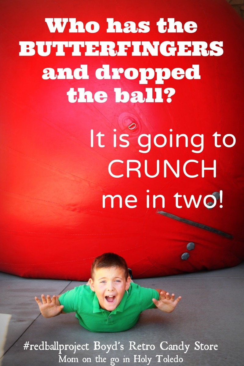 I Managed To Caption This Redball Is Up To Its Old Twix Mom On