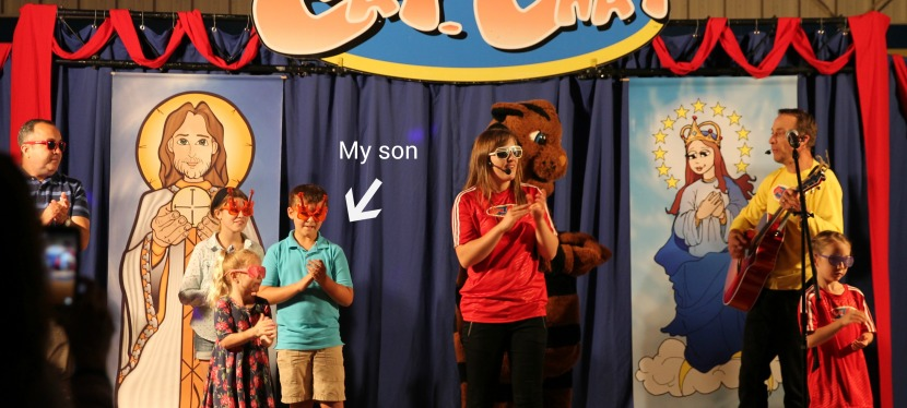 Catholic Variety Show for Kids & Catholic VBS