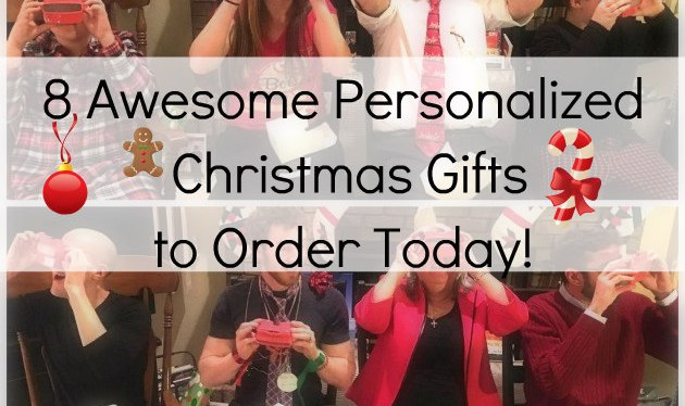 8 Awesome Personalized Christmas Gifts to Order Today