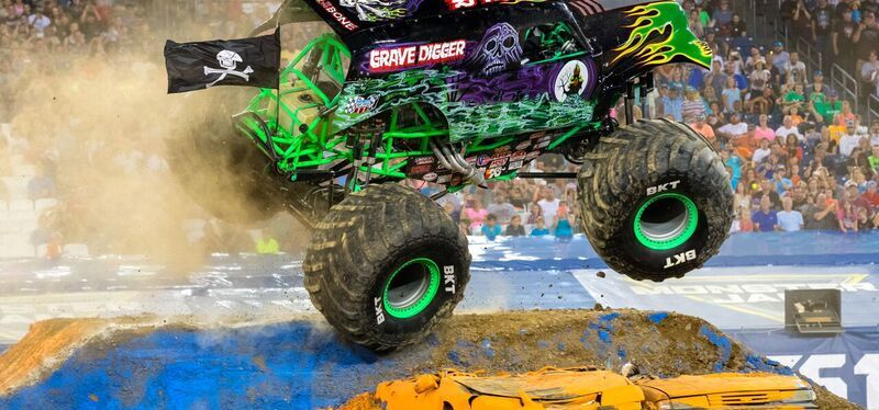Win Monster Jam Family Four-Pack Tickets
