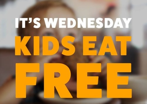Kids Eat Free on Wednesdays!