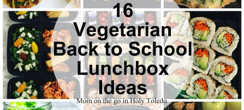 16 Vegetarian Lunchbox Ideas