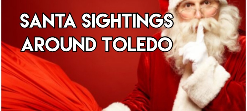 Santa Sightings around Toledo