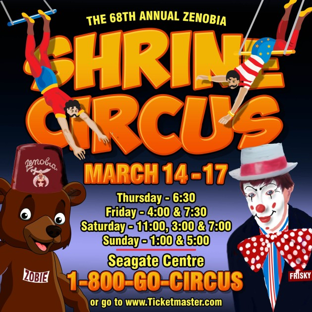 Shrine Circus Social Media Size