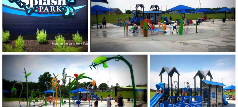 Defiance Ohio FREE Splash Pad