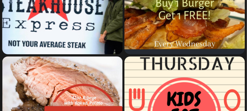 Dallis Steakhouse Express: Kids Eat FREE on Thursdays!