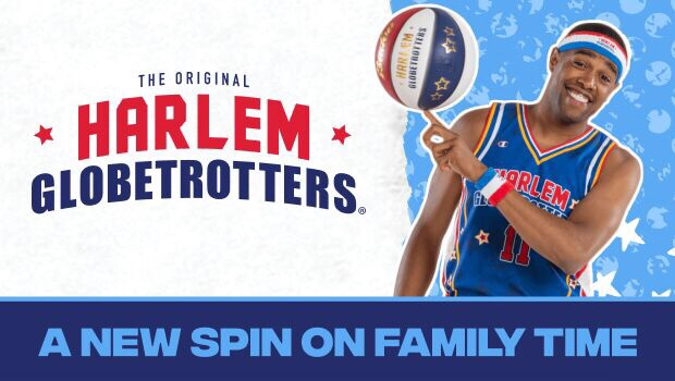 Harlem Globetrotters Pushing the Limits World Tour in BG Ohio Family 4-pack ticket Giveaway
