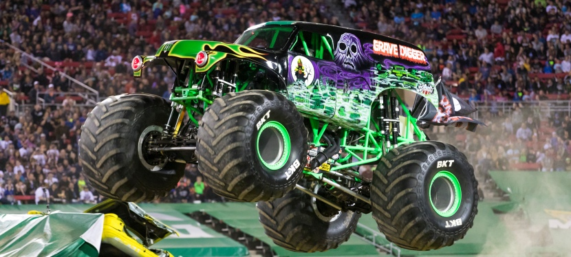 Monster Jam is coming to Toledo! Win Family 4-pack Tickets