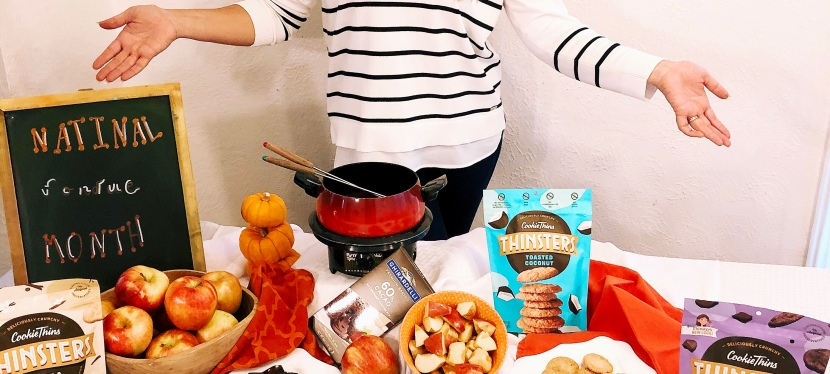 "Stuck at home, looking for something ""Fondue"" to do with the fam?"