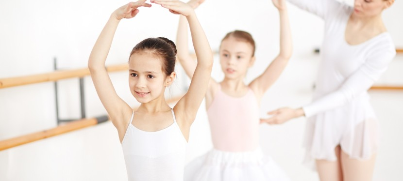 4 Fun At-Home Ballet Exercises To Do with Your Kids