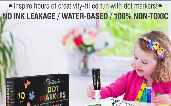 No Mess Paint & Chalk for Kids (Discount Included)