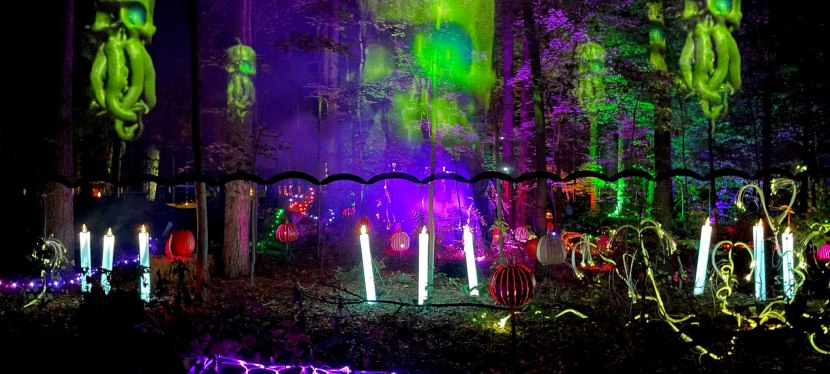 GlenLore Trails Haunted Forest! Includes discountcode