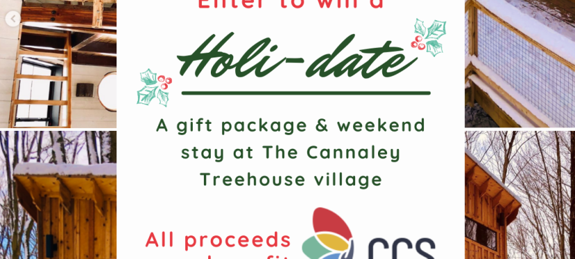 Win a Gift Package and 2-night stay at the Cannaley TreehouseVillage